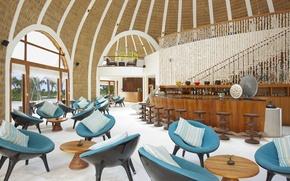 Picture bar, Maldives, resort Kandooma