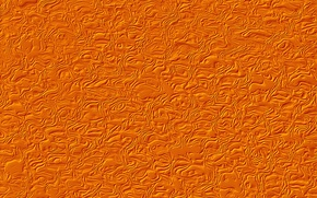 Wallpaper wave, fantasy, texture, orange background, relief
