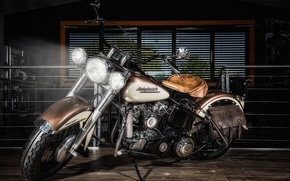 Picture Harley Davidson, bike, motorcycle, chopper.