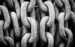 Picture metal, steel, rust, heavy chains