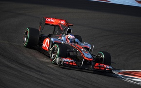 Wallpaper McLaren, formula 1, 2010, Jenson Button, AbuDhabiGP, Jenson button