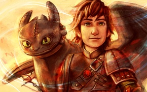 Picture How to train your dragon, Toothless, How to Train Your Dragon, Hiccup, Hiccup Horrendous Haddock