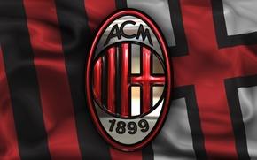 Picture wallpaper, sport, logo, football, AC Milan