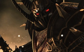 Picture look, warrior, armor, Chaos, chaos, warhammer, Age of Reckoning