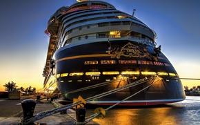 Picture sea, ship, yacht, disney, disney
