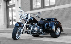 Picture 2008, Tricycle, Classic Trike, Glide Auto Trike, Line 0eight Ridley, 750 v-twin, CVT, Ridley