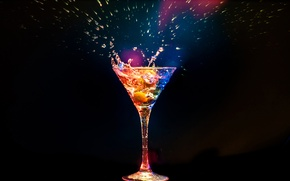 Picture cocktail, glass, cocktail, background, squirt