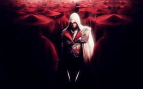 Picture Knives, Red, Killer, Brotherhood, Assassin's Creed