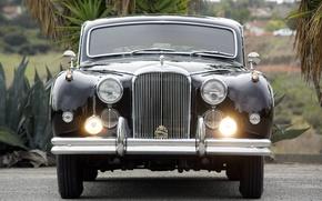 Picture car, Jaguar, car, classic, 1959, Mark IX