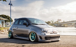 Picture fiat, tuning, 500, abarth, hatchback, Fiat, of Abart