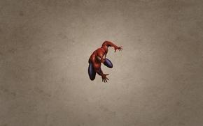 Picture minimalism, spider-man, spider man, dark background