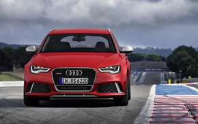 Picture Audi, Audi, Germany, universal, Wagon, 2014, V-8, RS 6 Avant
