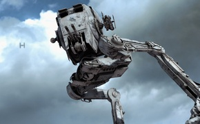 Picture background, Star Wars, Battlefront, war machine