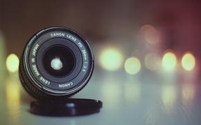 Picture light, Canon, bokeh, lens, globes