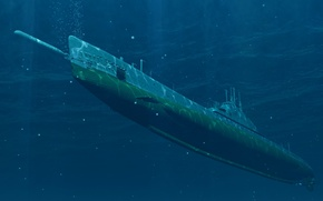 Wallpaper submarine, torpedo