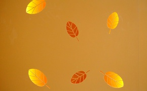 Wallpaper texture, background, leaves