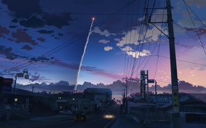 Picture Scenery, Screenshot, Makoto Shinkai, 5 Centimeters Per Second