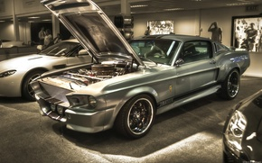 Picture car, machine, dream, mustang, ford, shelby, gt 500, Ford, Shelby, muscle, eleanor, gone in 60 …