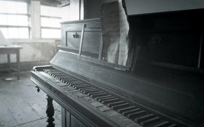 Wallpaper notes, piano, music