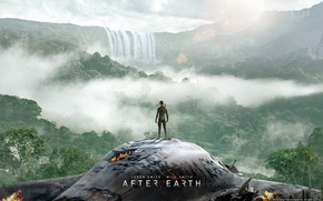 Picture ship, the crash, jungle, After Earth, After earth