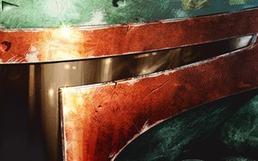Picture close-up, star wars, Boba Fett