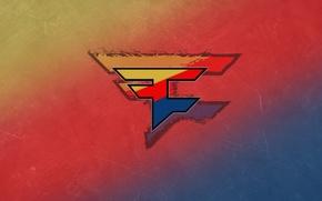 Picture reflection, logo, team, counter-strike, clan, csgo, cs go, fade, FaZe