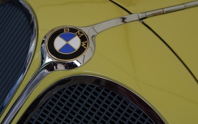 Picture icon, the hood, BMW, brand