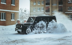 Picture snow, Mercedes-Benz, photographer, photography, photographer, All-terrain vehicles, GORELOV FILMS PRODUCTION