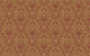 Picture red, background, Wallpaper, texture, ornament, floral patterns