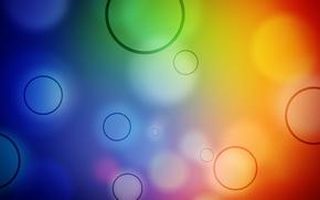 Wallpaper color, circles, abstraction, patterns, circles, patterns, colours, bokeh, bokeh, 1920x1080, abstraction