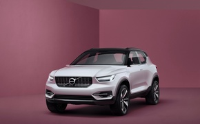 Picture Concept, background, Volvo, the concept, Coupe, Volvo, crossover