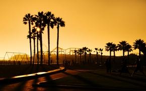 Picture city, the city, USA, Los Angeles, Santa Monica, Califonia