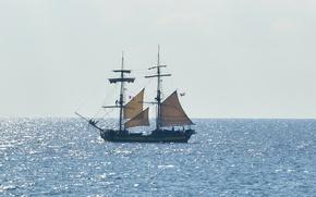 Wallpaper summer, sea, ocean, seascape, France, wind, boat, sunny, sailing, Côte d'azur, Antibes