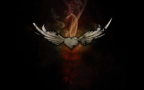 Picture Heart, Smoke, Wings