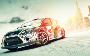 Wallpaper the game, ford, dirt 3