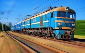 Picture movement, train, train, VL-8