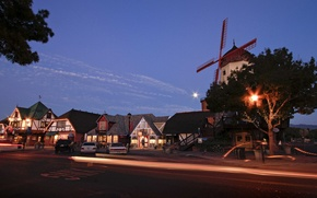 Picture city, the city, USA, California, Santa Barbara
