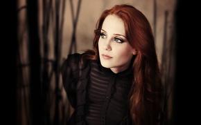Picture metal, gothic, Simone Simons, Epica, Simone Simons, symphonic