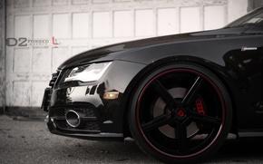 Picture Audi, black