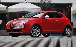 Picture Alfa Romeo, Red, Mito, Rosso, Alfa Romeo Mito, Alfa Romeo Wallpaper, Mito MultiAir