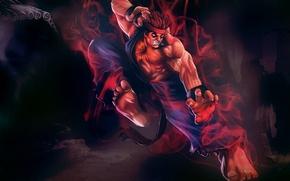 Picture fighter, ultra, street, super, evil ryu
