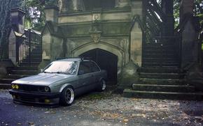 Picture grey, BMW, BMW, sedan, E30, The 3 series