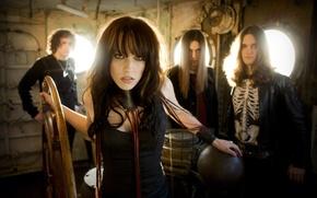 Picture group, rock, Lizzy Hale, Halestorm