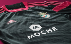 Picture Adidas, Wallpaper, 2014-15 Away Jersey, SL Benfica
