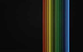 Picture colors, red, black, lines