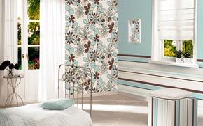 Picture design, style, room, Wallpaper, interior, bedroom