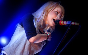 Picture concert, singer, paramore, williams, sings, hayley, Haley, Williams, pop-pank