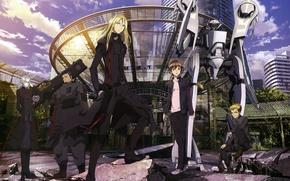 Picture robot, Shu Ouma, Guilty Crown, crown of guilt, Oguma, Gai Tsutsugami, the undertakers, Arago Tsukishima, …