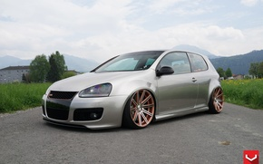 Picture Volkswagen, GTI, Vossen, CV4