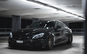 Picture Mercedes-Benz, coupe, C63 AMG S